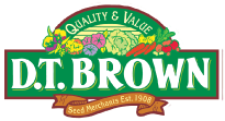 D.T. Brown Seeds Voucher Codes
